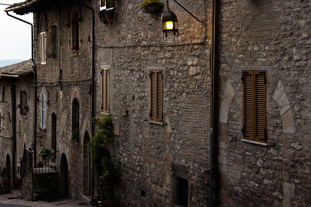 Assisi - Winding Streets