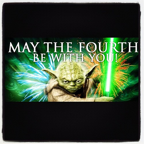 #May_the_fourth_be_with_you #StarWars #SciFi #GeekOut #Nerd_Humor #Yoda #May4