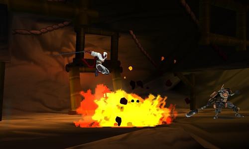 Shinobi - Jumping