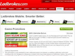 Ladbrokes Welcome Bonus