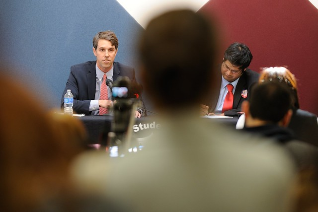 Beto O'Rourke Speaks at the EPCC SGA Spring Debate