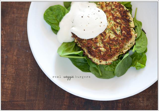16. real veggie burger