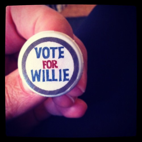 My brother @willie_petersen wants to be SBO president. Vote for him.
