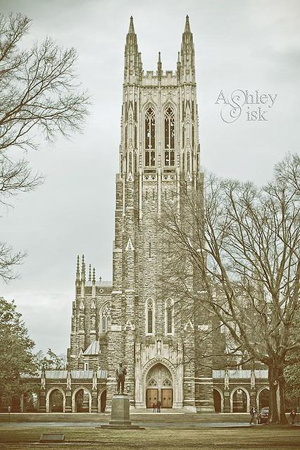 Duke Chapel Gradient Map