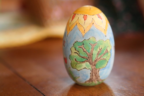 Wood-Burned Egg