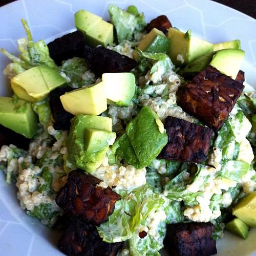 Quinoa Caesar Salad