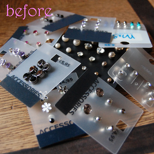 before earring frame tutorial
