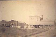 Murray Street 155 Exchange Hotel before 1875