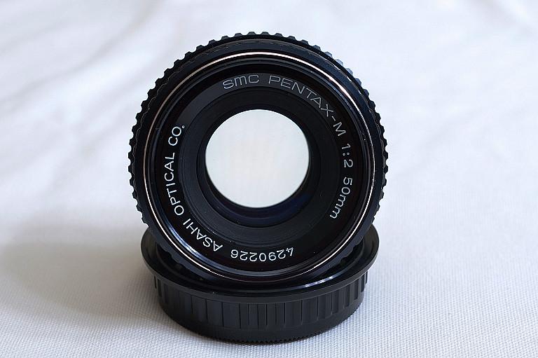 SMC PENTAX-M 1:2 50mm