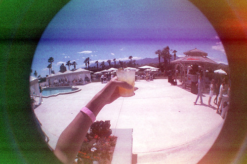 Coachella Fisheye Lacoste Pool Party