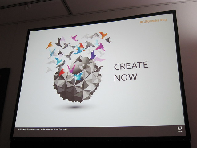 Theme For CS 6 Is: Create Now