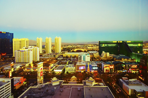 A view on the Strip, Las Vegas