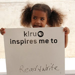 KLRU inspires me to ... read and write