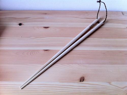 日本橋・木屋の木曽ひのきの菜箸