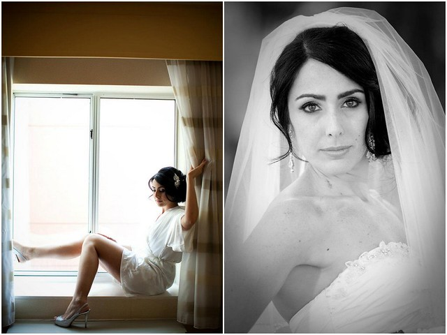 Bridal Styles Bride Michelle and her new husband Adam, photo - Photography Elite