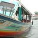 the boat at Chao Phraya