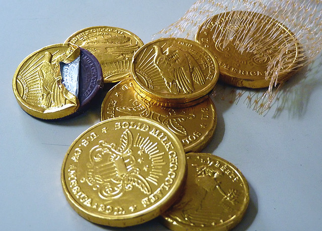 Large Chocolate Coins Uk