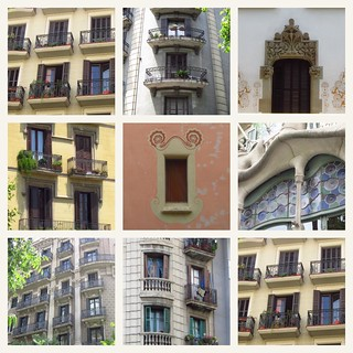 Windows of Barcelona