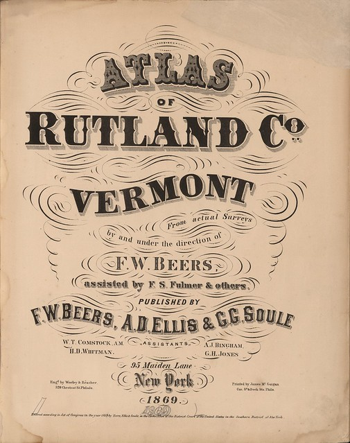 19th c. heading typography