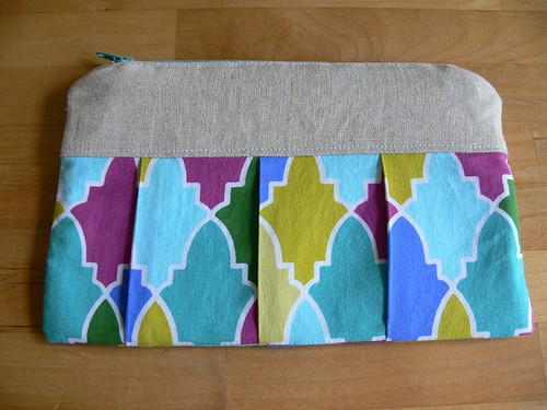 Jenny: Pleated Pouches for Teacher Appreciation