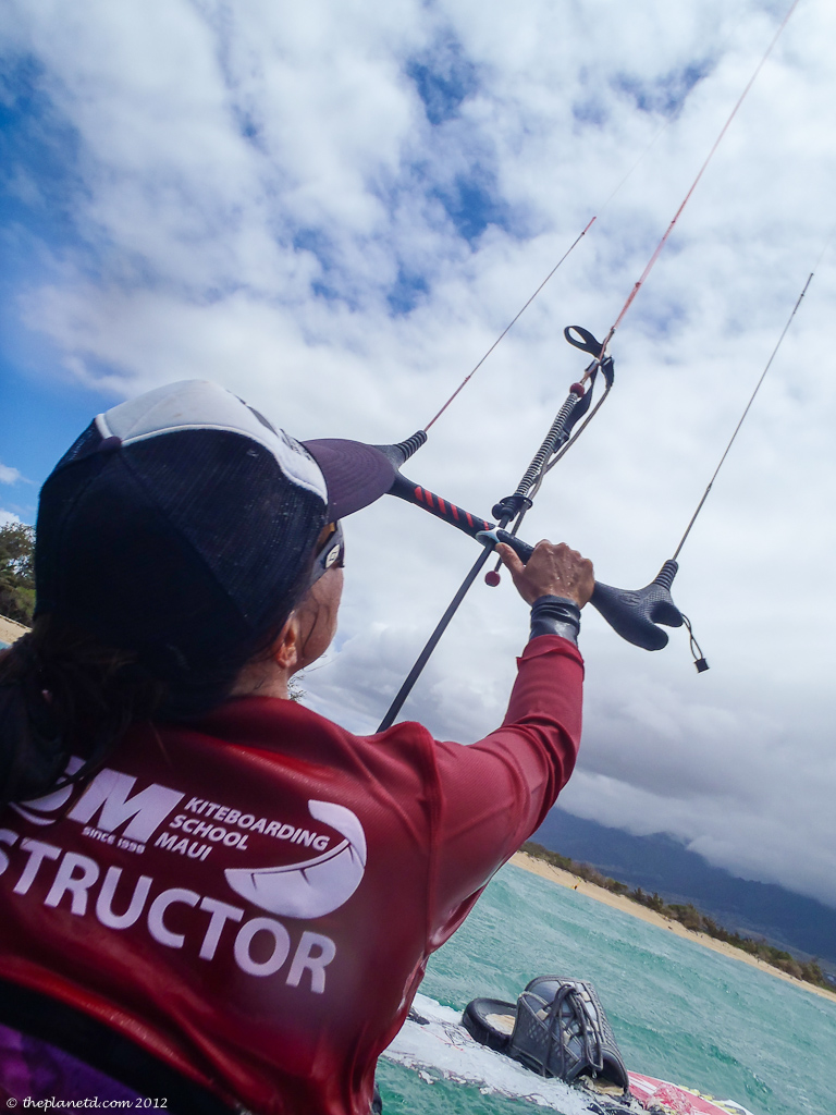 vacation photo of Kiteboarding in Hawaii