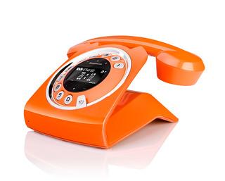 Un téléphone fixe super design au look ultra vintage!