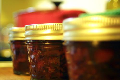 Cherry Cardamom Rosewater Jam