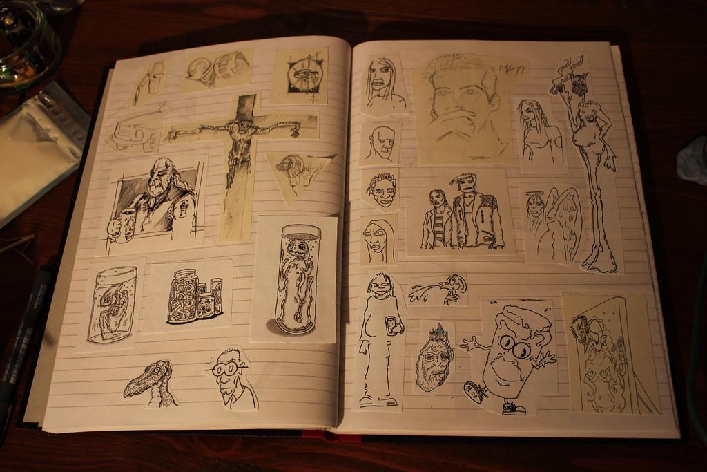 Sketch Scrap Book 14