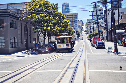 Cable Car in San Francisco, CA
