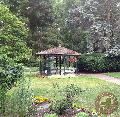 Seward House Gazebo in Garden