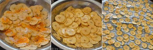 How to make nendran chips - Step2