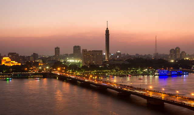 Late evening in Cairo [Explored]