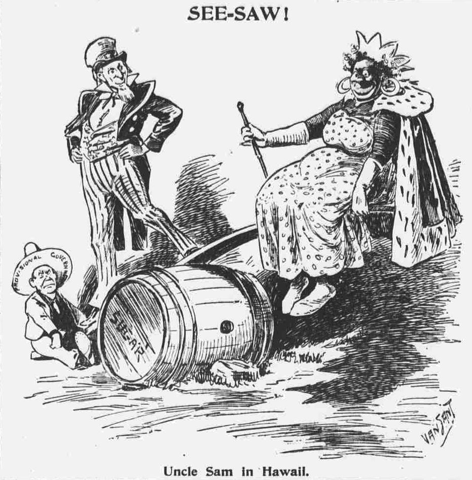 Image result for hawaiian political cartoons