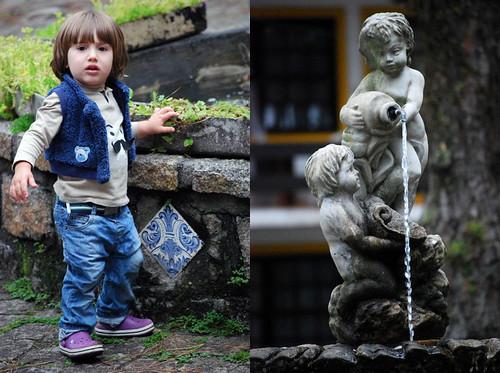 At the fountain by good mood factory / Anita Damas