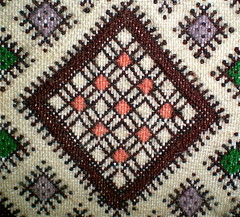 Grain - شعر - تمزين enclosed by a diamond saw - منشر - motif