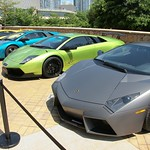 Lamborghini Gallardo LP550-2 HK 20th Anniversary Edition is Hong Kong exclusive Unveiling at Cyberport Arcade