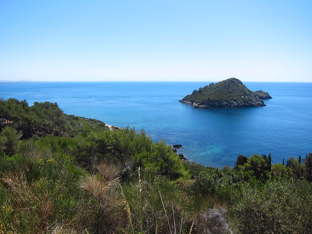 View of Mediterranean from Near Porto Ercole