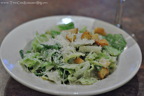 Side Caesar Salad at Union Hotel Restaurant ~ Santa Rosa, CA