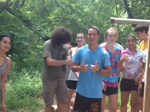 NSLC LAWA Takes the Ropes Course