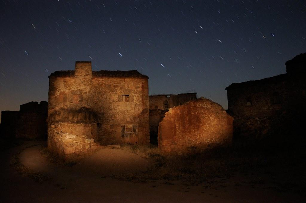Tobes, un pueblo abandonado cerca de Atienza, Guadalajara.