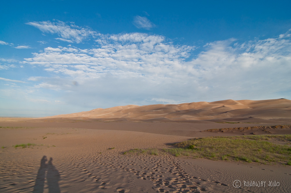 Evening on the Great Sand Dunes