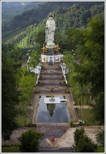 Guan Yin at Wat Bang Riang