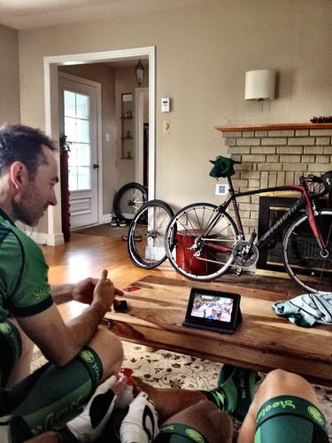 Between TT and circuit race: Tour de France!