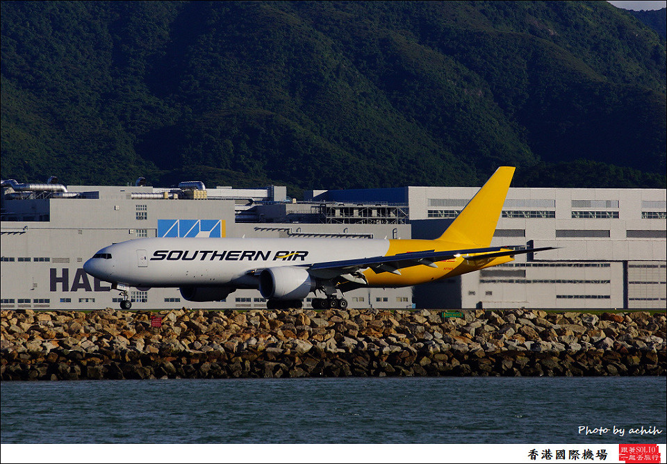 Southern Air (DHL) / N771SA / Hong Kong International Airport