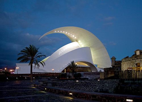 Auditorio de Tenerife, Canary Islands, Spain