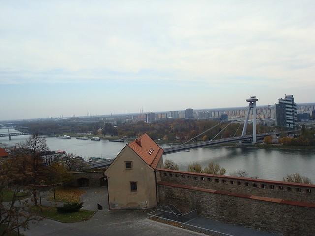 The New Bridge over the Danube river, Bratislava