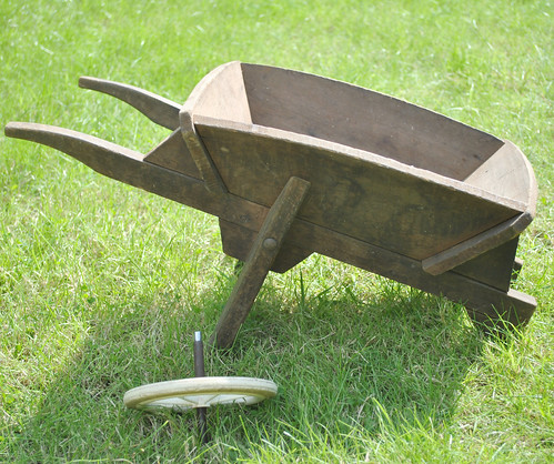 My wheelbarrow from when I was a kid
