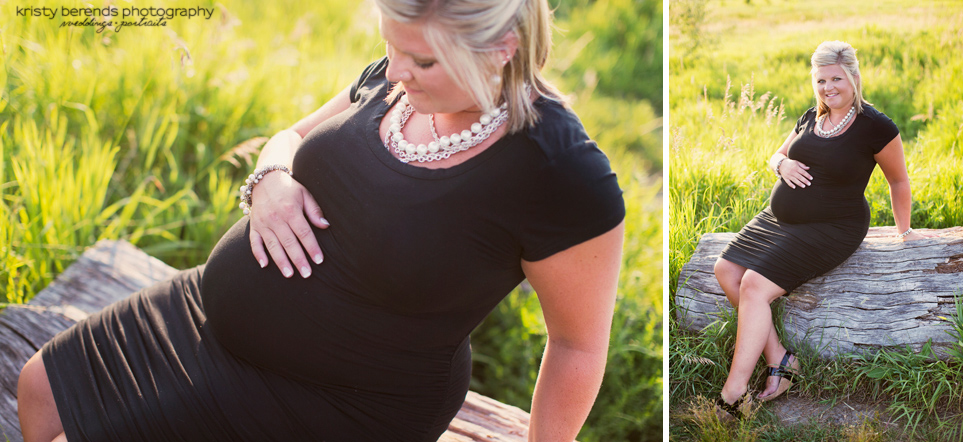 Maternity - black dress
