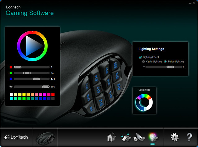 Logitech Gaming Software - Backlighting