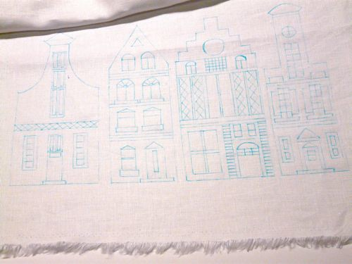 Dutch Canal House Embroidery 6